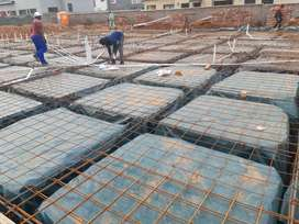 Reinforced Concrete Slab/ First Floor Slabs/ Raft Foundations