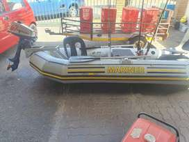 Intex mariner 4 rubber duck fully modified