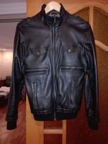 Продам кожаную куртку на невысокого мужчину или подростка, натуральная