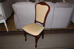 Krzesła krzesło klasyczne MELINDA -20% orzech / beż