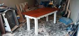 Hand crafted dining/patio tables