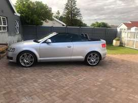 2008 Audi Cabriolet Convertible  R120 000 Negotiable.