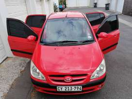 A very neat hyundai Getz for sale.