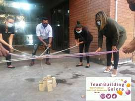 ' Socially distanced ' team building packages