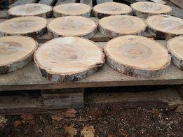 Plastry plaster drewna brzozy 15-18 cm gr2