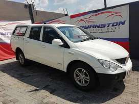 2012 Ssangyong Actyon Sports 2.0D 4X2 - R115,900