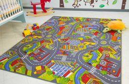 Детские ковровые дорожки. Ковролин для детей на войлоке. Детские ковры