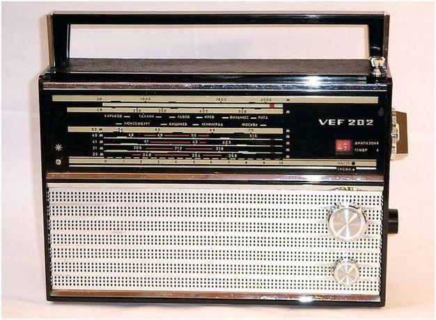 Радиоприемник ВЕФ-202 (FEF-202)