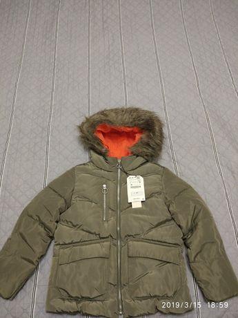 Демисезонная курточка для девочки Zara Днепр - изображение 1