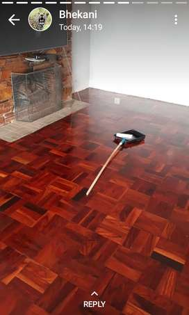 Sanding and sealing of any wooden flooring and decking.