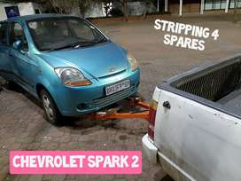 Chevrolet Spark - stripping for parts and Accessories