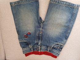 Spodenki krotkie jeansowe