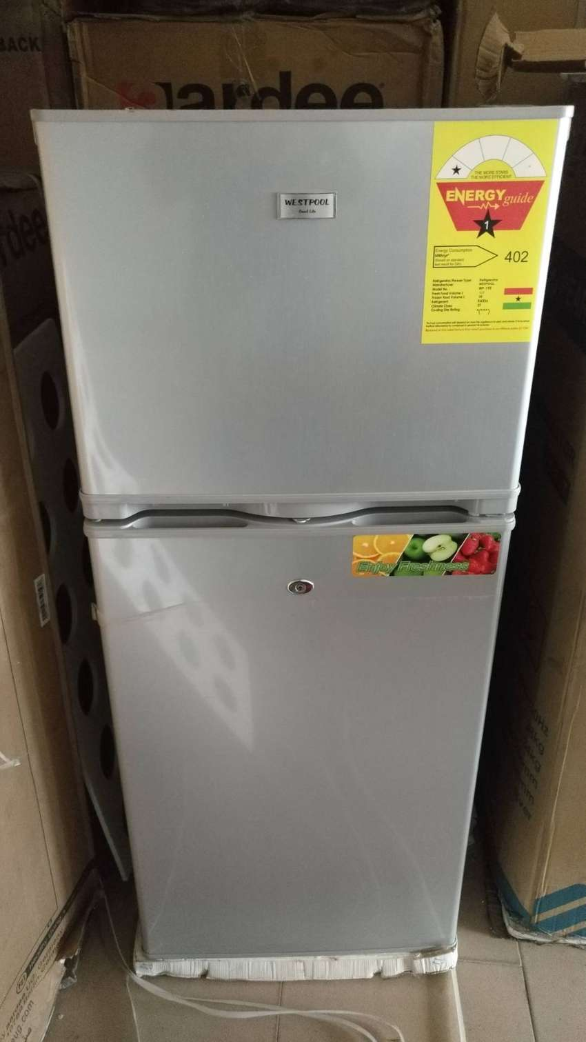 Westpool 195 Double Door Fridge 0