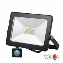 Прожектор светодиодный 50W LED с датчиком движения