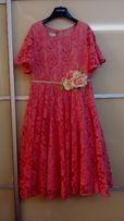 Нарядное платье Monsoon, размер 12-13