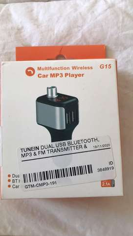 Multifunction Wireless car MP3 player