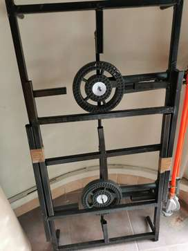 Cast Iron 3 Plate Gas Stove
