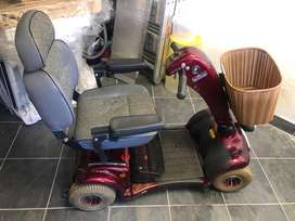 Motorized medical scooter