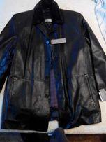 Куртка кожаная осень, куртка зима, куртка зимняя