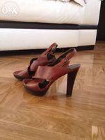 Роскошные кожаные босоножки Stuart Weitzman Испания оригинал