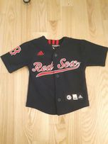 86 Bluza kamizelka adidas Red Sox. Oryginalna.