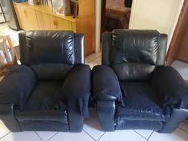 Lazyboy Style Recliner Chairs R1000 for both.