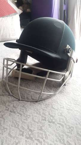 County cricket helmet and face guard