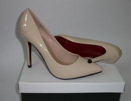 Новые туфли лодочки бежевые,черные,красные женские 36,37,38,39,40 Киев