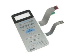 Клавиатура белая для микроволновой печи Samsung DE34-00115F