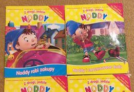 4 książeczki z Noddym