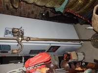 Image of Antique Brass Lamp