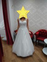 suknia ślubna + bolerko i welon