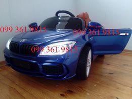 Детский электромобиль BMW7 Ева колёса,Амортизаторы,Ключ,Кожа