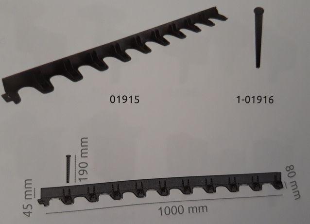 Пластиковий бордюр, обмежувач, окантовка, висота 4.5см, Польша Львов - изображение 1