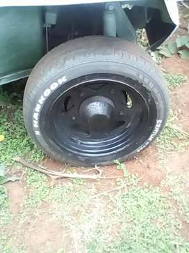 Beach buggy rims and tyres