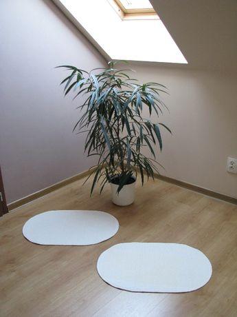 Białe, owalne dywaniki, chodniczki antypoślizgowe 65x44 cm Krapkowice - image 6