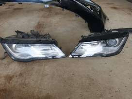 2013 audi a7 headlights, front bumper + grille etc. contact for price