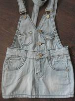 Новый джинсовый сарафан комбинезон