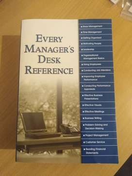 Every Manager's Desk Reference - Book