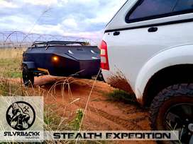Silvrbackk industries Stealth Expedition camping/sport utility trailer
