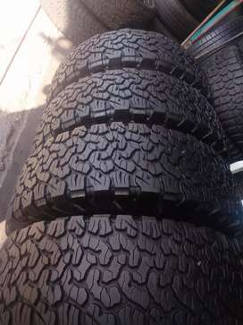 Bfgoodrich ko2 set of tyres sizes 265/70/16 now available