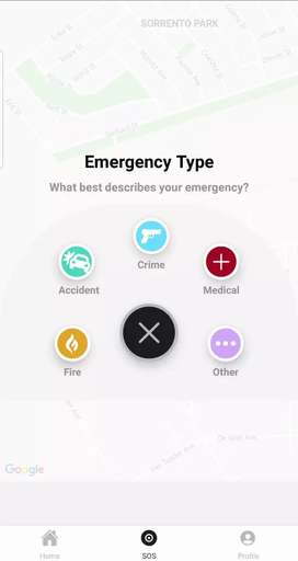 Medical/Emergency Response Website and application