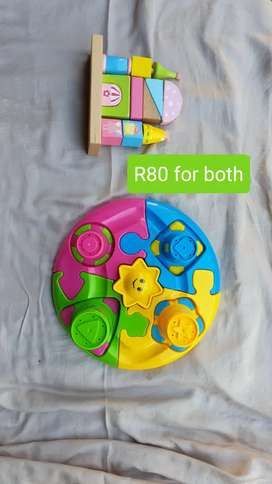 2nd Hand Toddler Toys R50