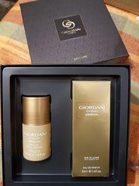 Zestaw perfum woda toaletowa i antypespirant upominek prezent Oriflame