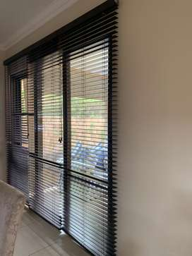 Luxaflex wooden blinds