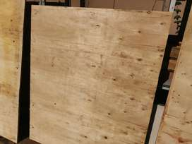 Plywood sheets. Recycled