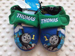 Тапочки Mothercare паровозик Томас 19 размер