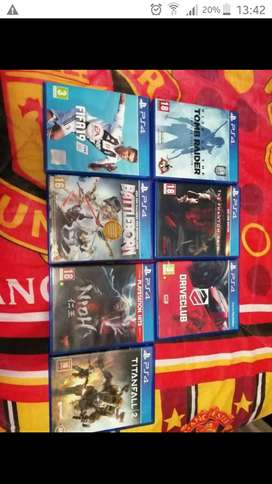 Ps4 games for sale or swap for ps vita