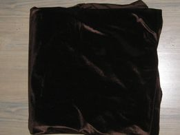 Бархат коричневого цвета с отливом 170х 312см 2 отреза