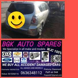Toyota Verso stripping 4 spares call us on
